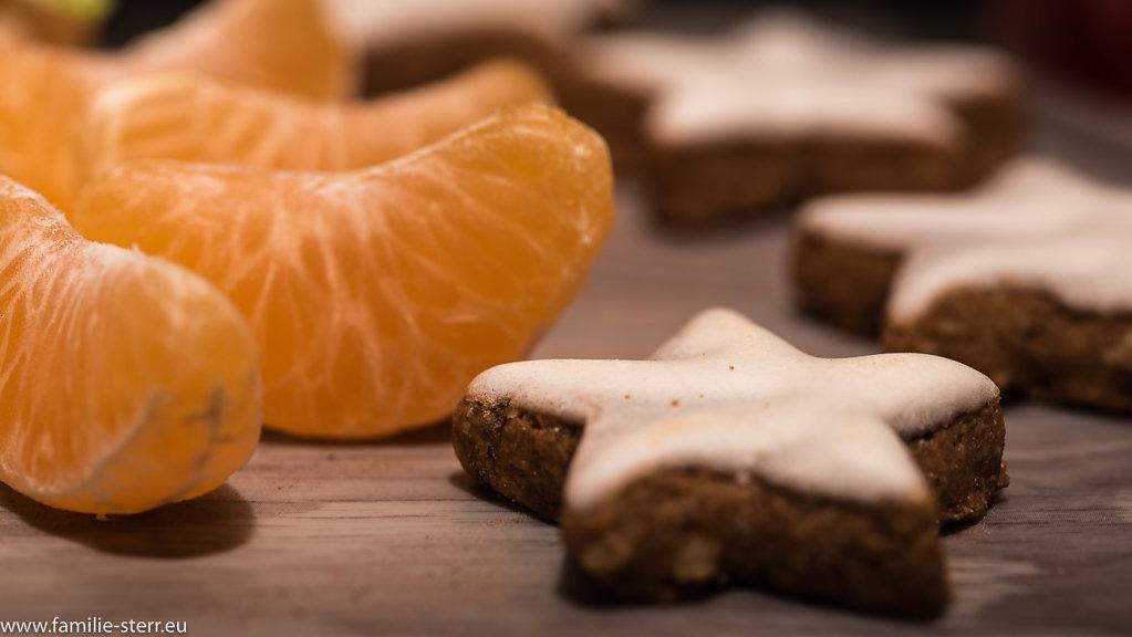 Clementinen und Zimtsterne
