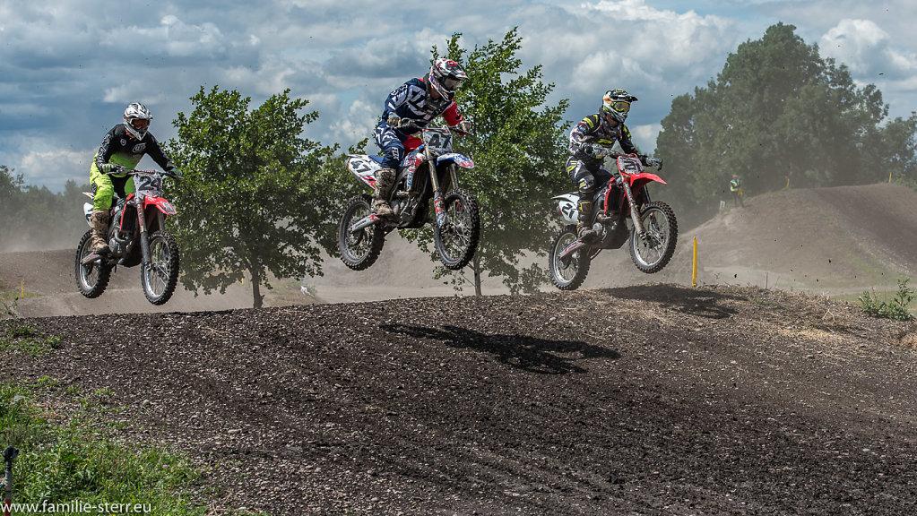 Motocross Flughafen München Juli 2017