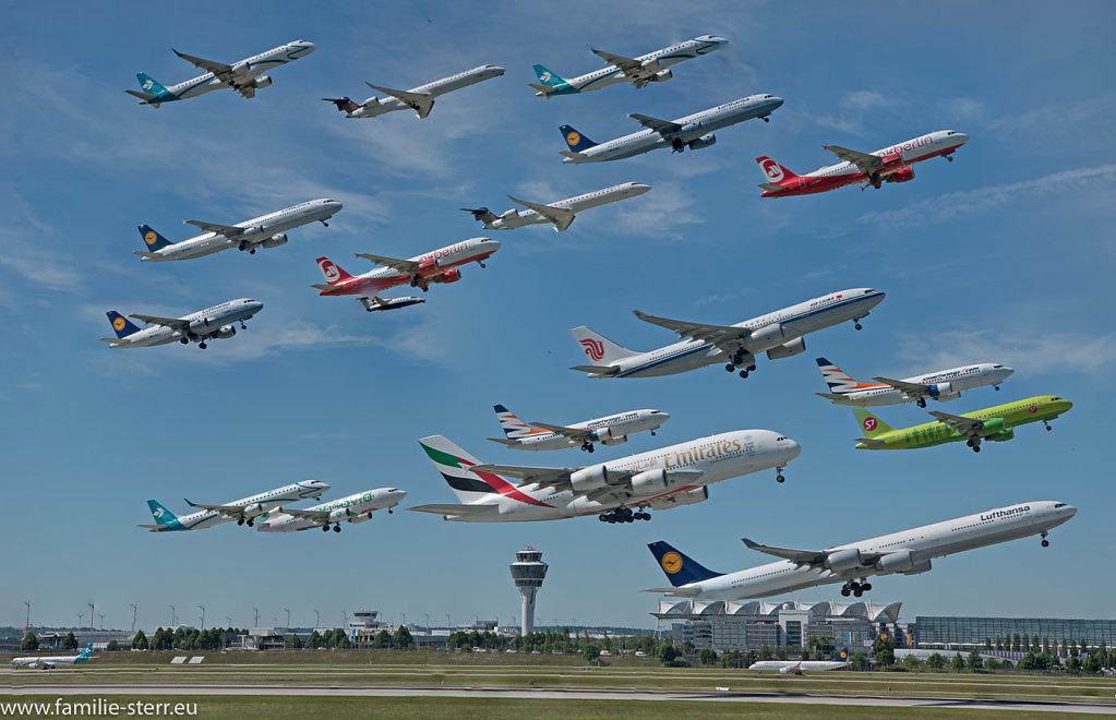 Flughafenszenen