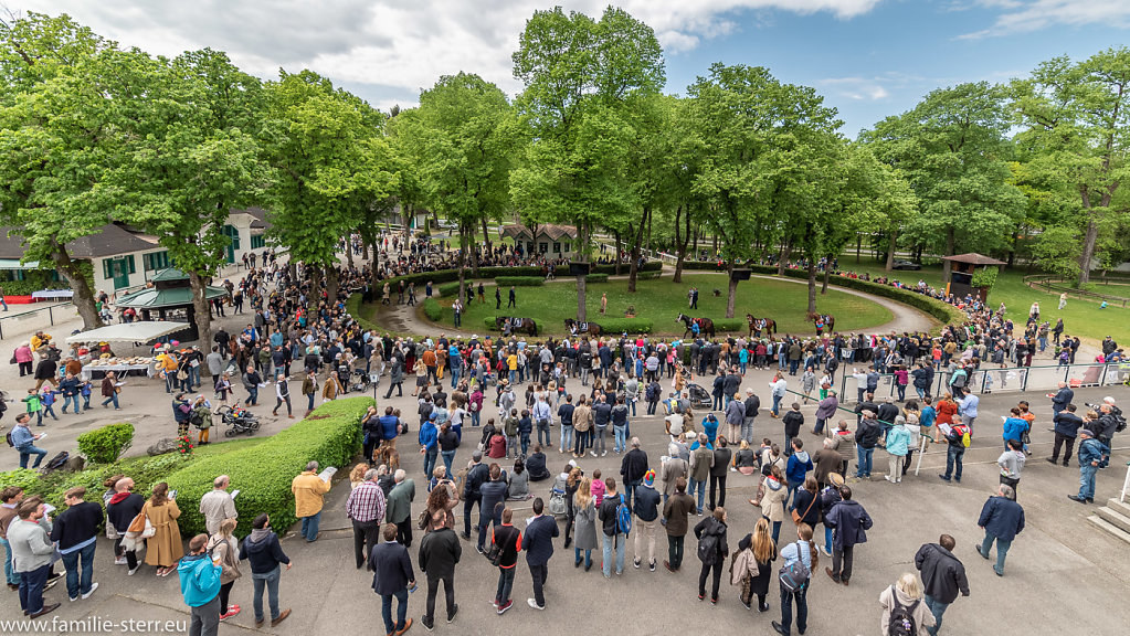 Galopprennen München Riem Mai 2018