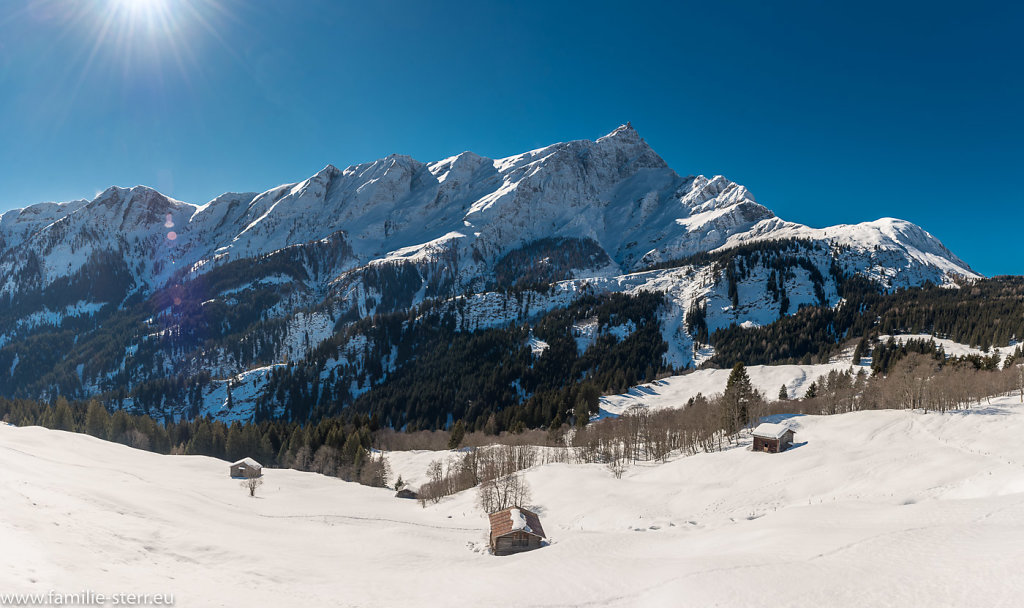 Ausflug ins Krönele / Rundfahrt Graubünden