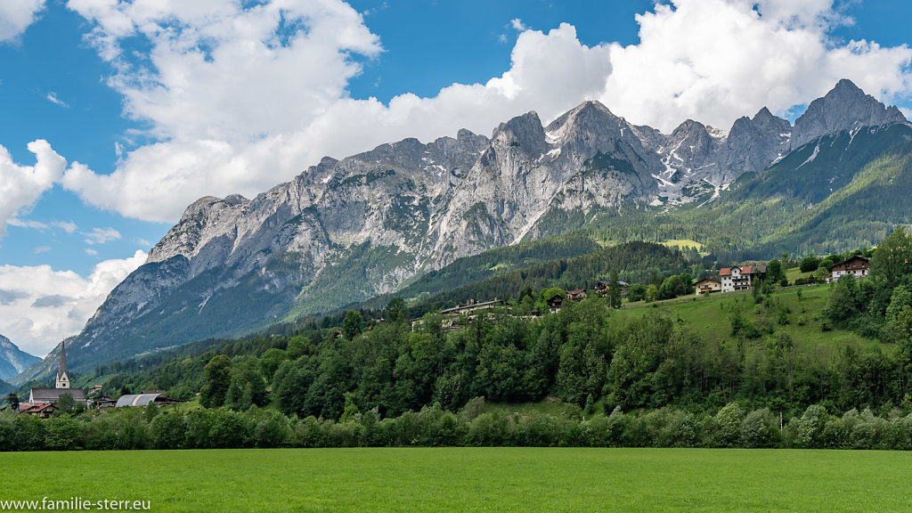 Bergkette Eisriesenwelt