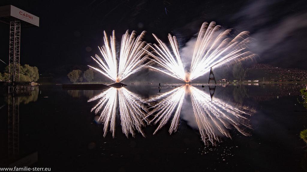 Feuerwerk Olympiapark München