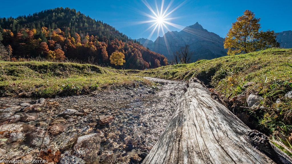 Herbst im Großen Ahornboden