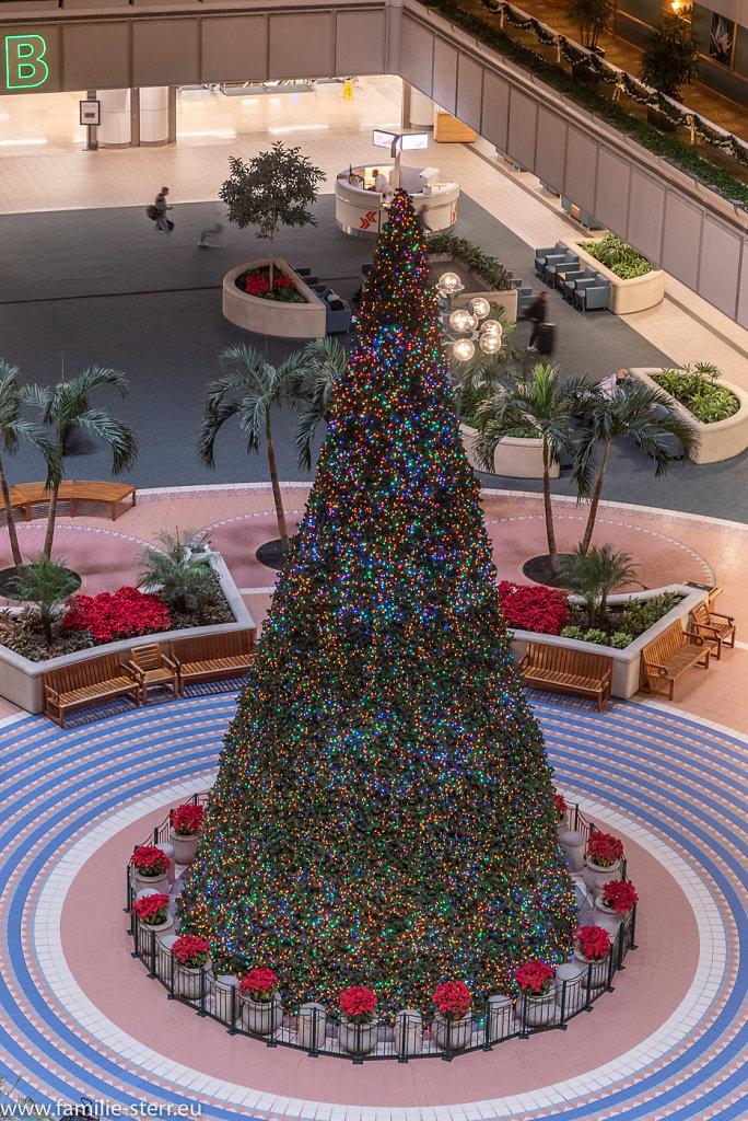 Weihnachten am Flughefen