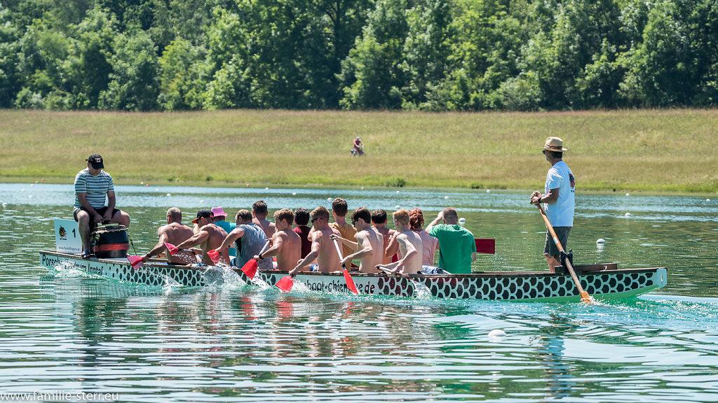Drachenbootrennen Juni 2016