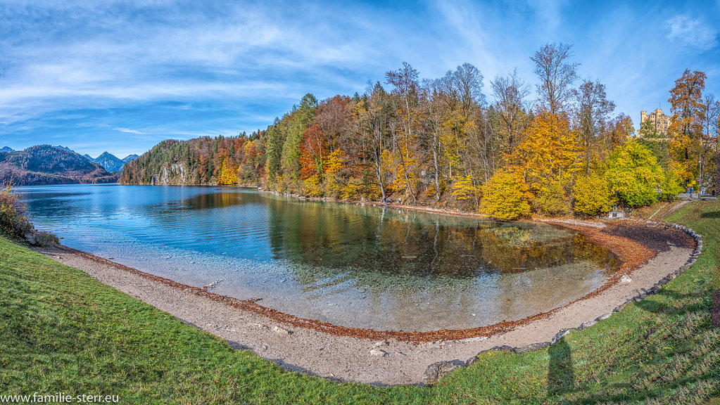 Alpsee im Herbst